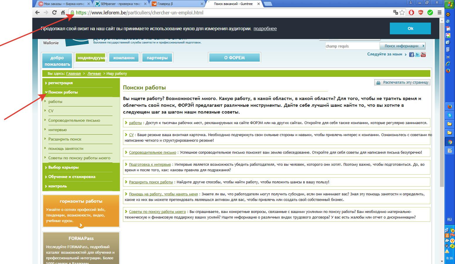 Работа в Бельгии, сайт поиска работы