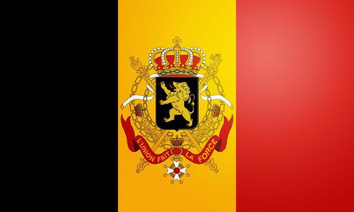 Государственный флаг Бельгии