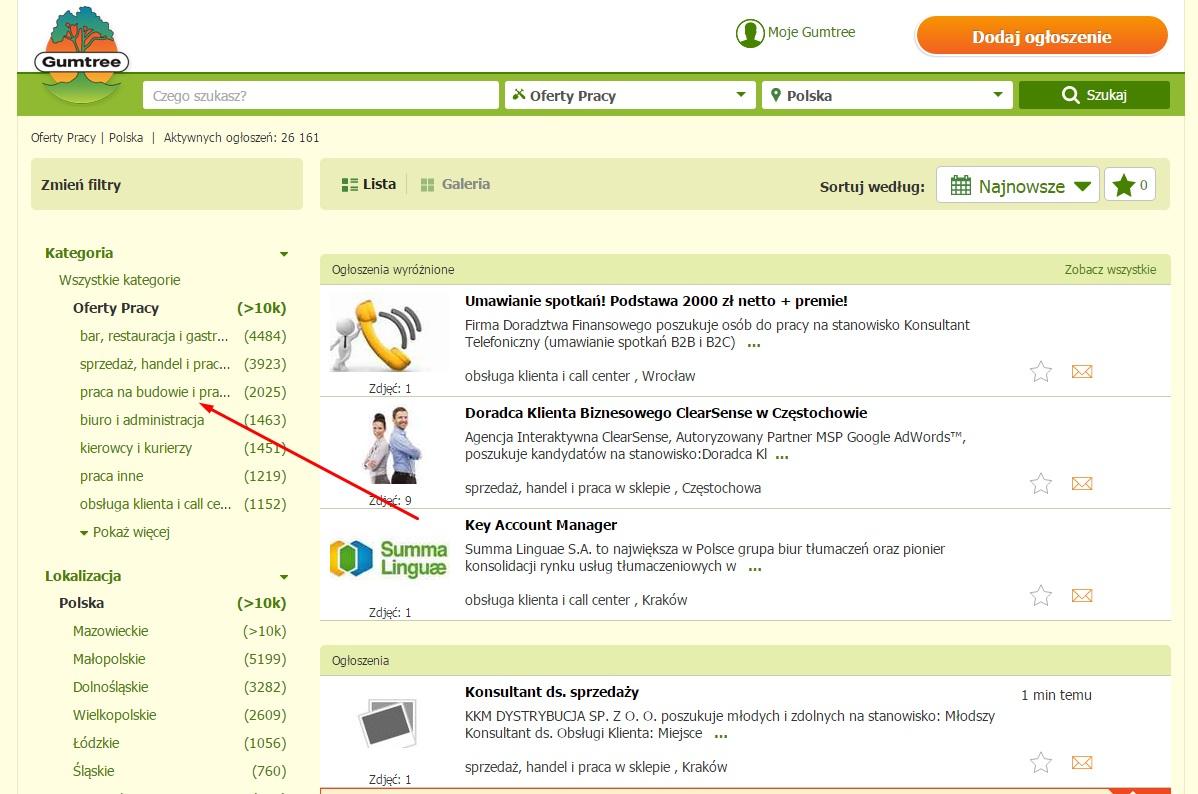Польские сайты поиска работы