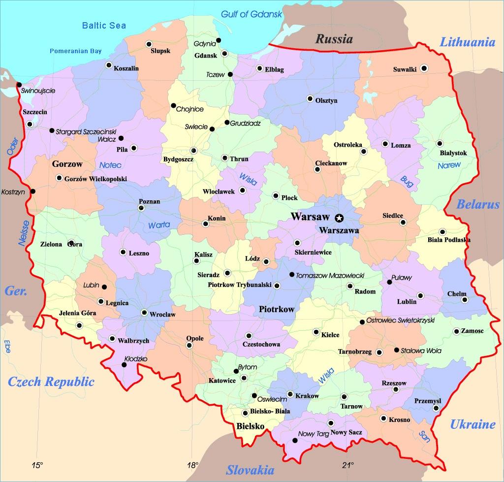 На работу в Польшу