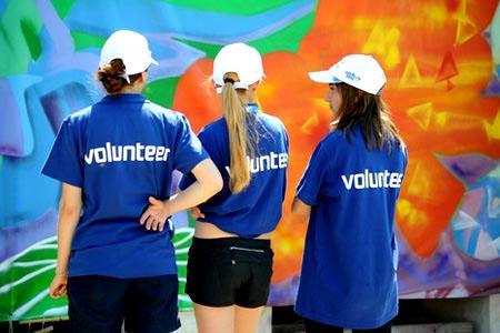 Работа на лето для студентов волонтёрами