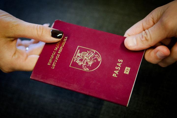 Паспорт Республики Литва фото