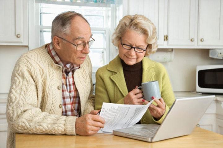 Пенсионеры в Латвии фото