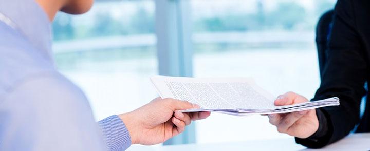 Подача пакета документов фото