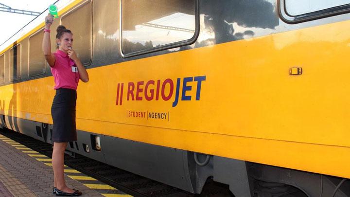 Чешский перевозчик RegioJet
